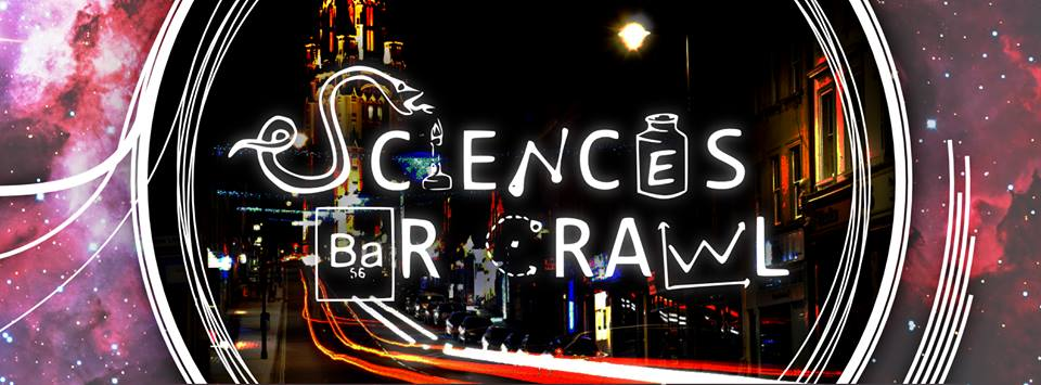 Sciences Bar Crawl 2014 Logo